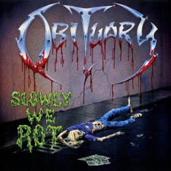 OBITUARY - Slowly We Rot CD...