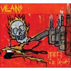 VILLAINS - Drenched In The...