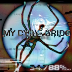 MY DYING BRIDE - 34.788%......