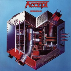 ACCEPT - Metal Heart (Red) LP