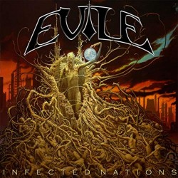 EVILE - Infected Nations CD