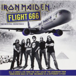 IRON MAIDEN - Flight 666 -...